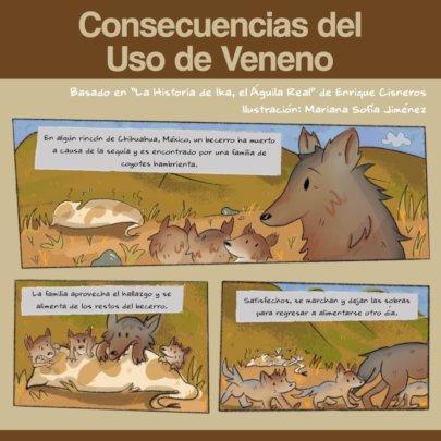 Cartoon strip about poisoning.