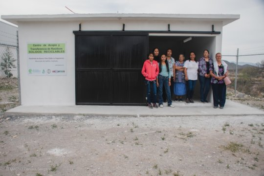 Solid waste management unit in Coahuila.