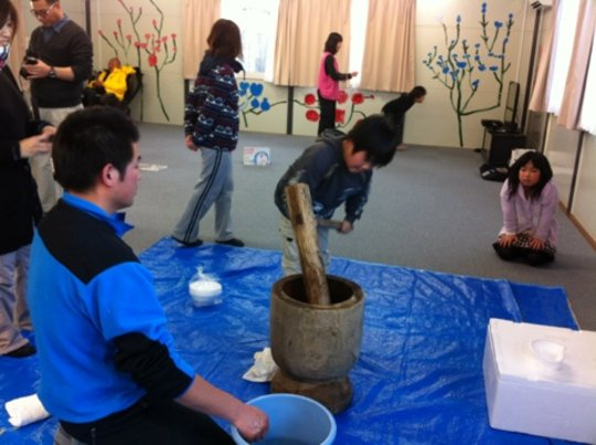 Learn & Play for tsunami-affected kids in Japan