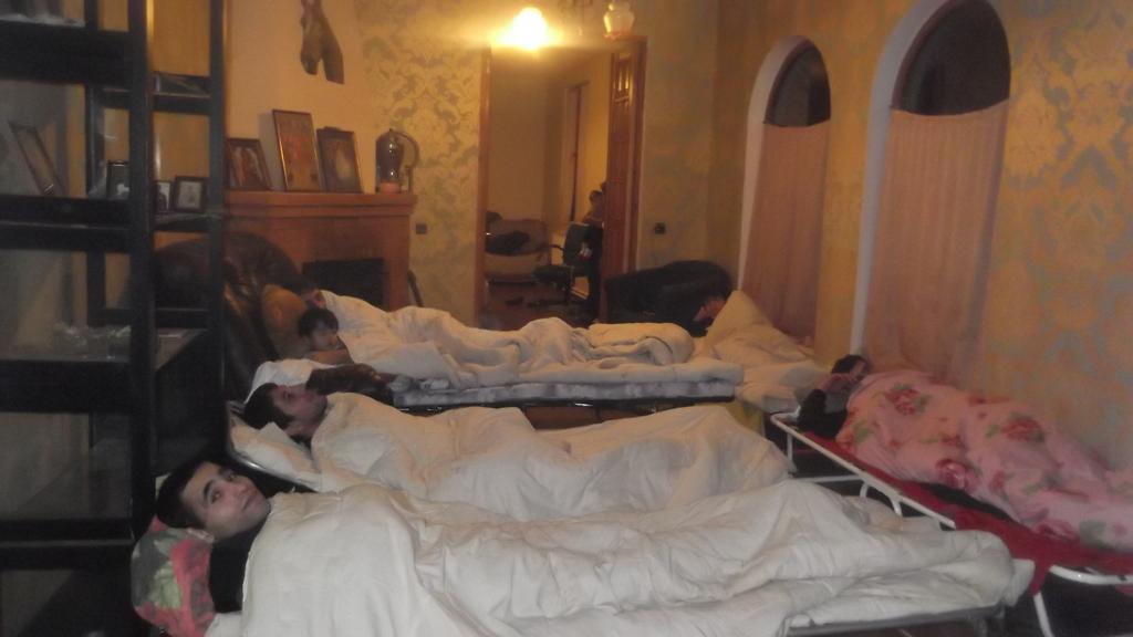 Emergency winter accommodation for homeless teens