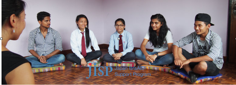 Nepali students in a preparatory meeting