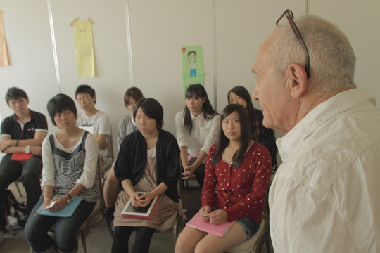 Training for youth group in Sendai