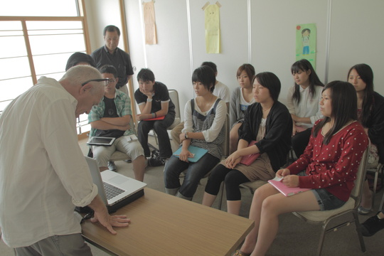 Training for youth group in Sendai 2