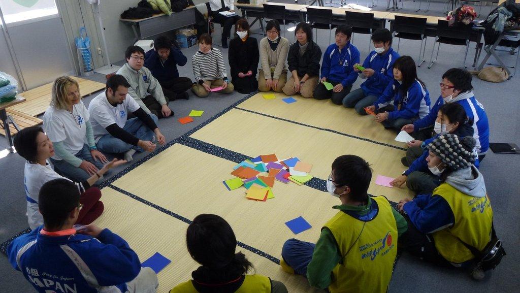 Rebuilding 10000 lives in Japan - youth leadership