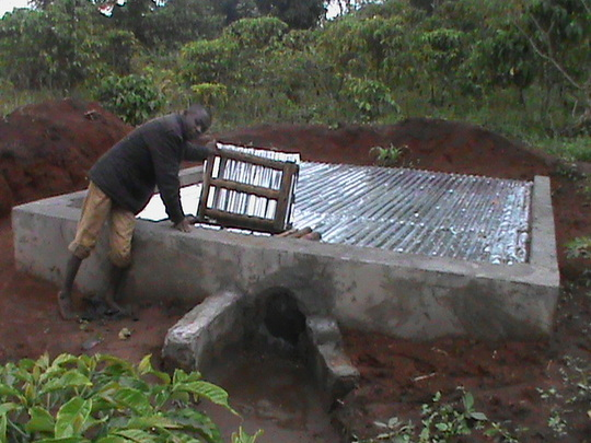 25,000 litre capacity tank for irrigation