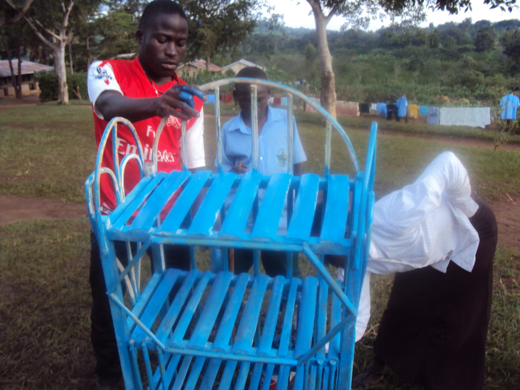 on job making the rack