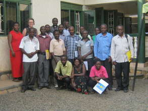 Participants at Recent FCDE Training of Local NGOs