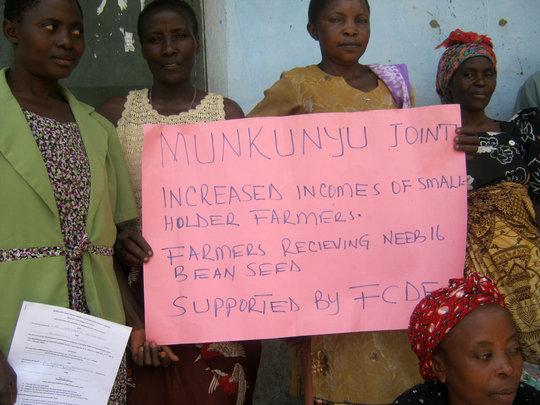 Munkunyu Group Apprciation for FCDE