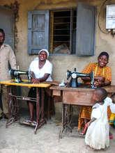 Work at the Karambi tailoring project
