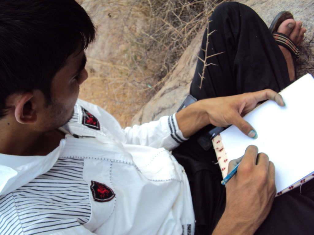 Hanif during the Observation excercise