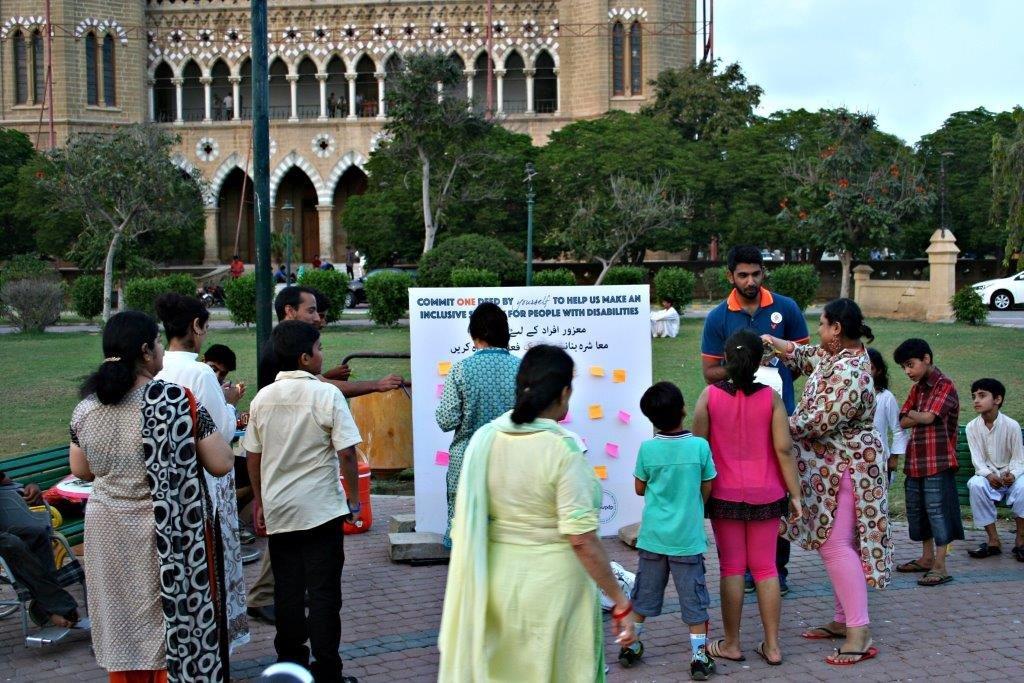 TRP team asking disability etiquette questions