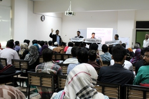 Sensitization at Bahria University