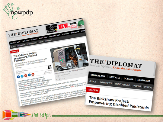TRP in globally renowned, The Diplomat Magazine