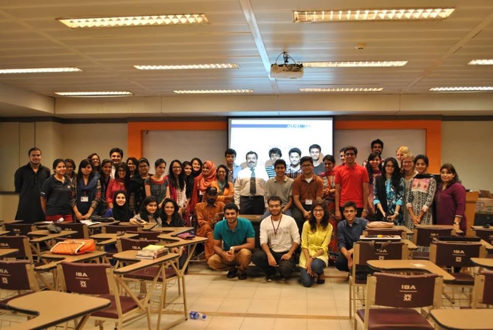 TRP team conducting Sensitization Session at IBA
