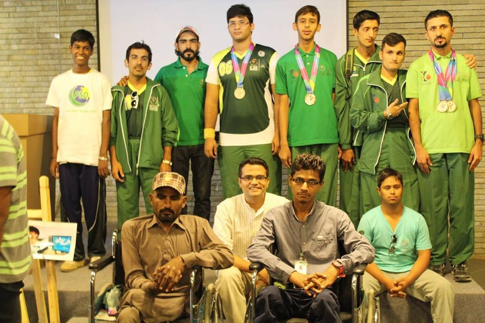 TRP Team and Special Olympics Pakistan Team at IBA