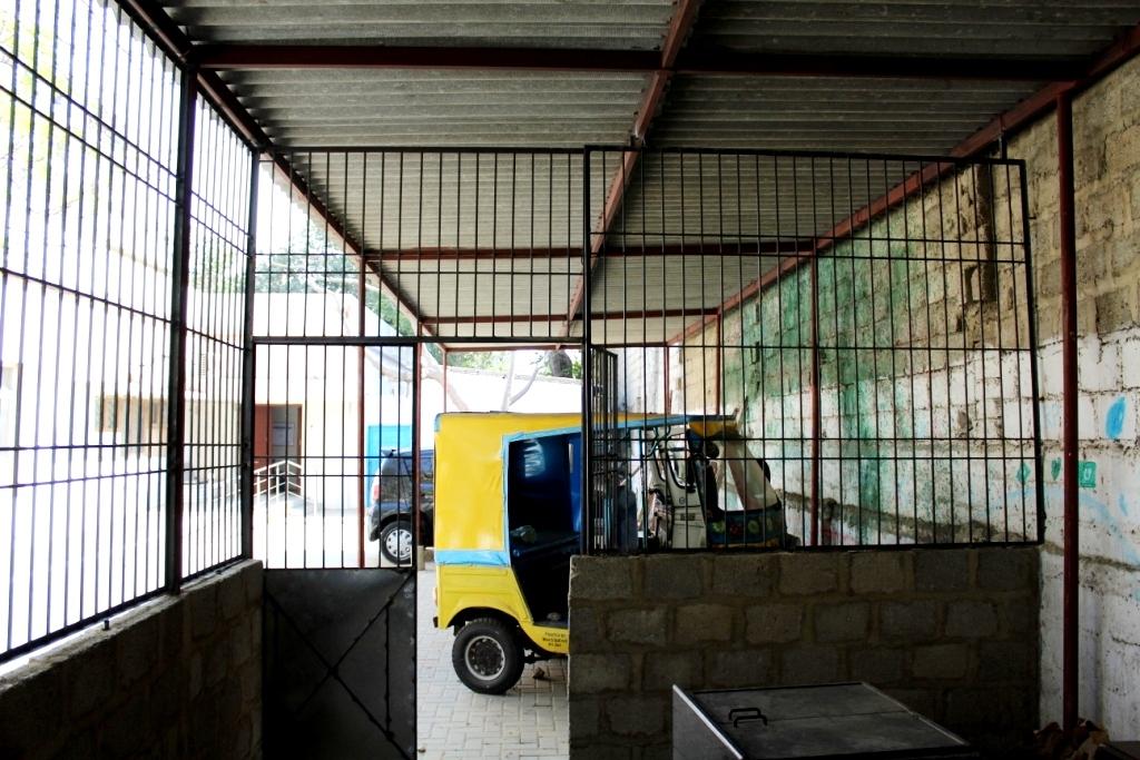 R&D Workshop under construction