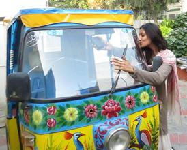 The rickshaw that made it all happen!