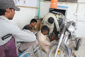 Imran training the team