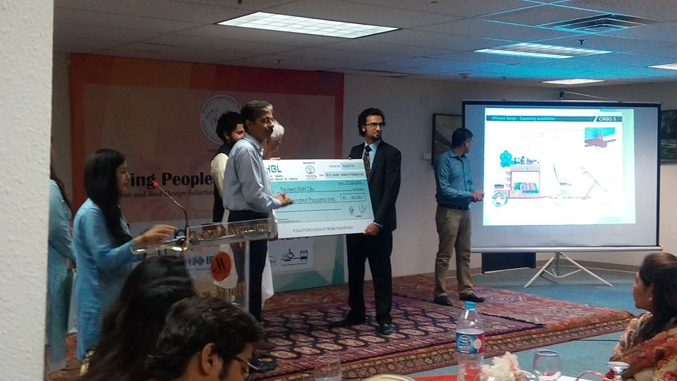 Taufeeq - Accessible Cycle Design Challenge Winner