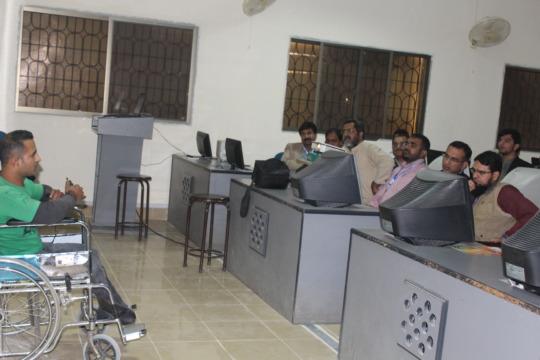 Design Challenge session at Mehran UET Jamshoro
