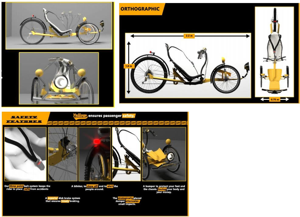 Most Innovative accessible cycle design - NUST