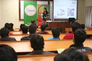 Design Challenge session at PIEAS Islamabad
