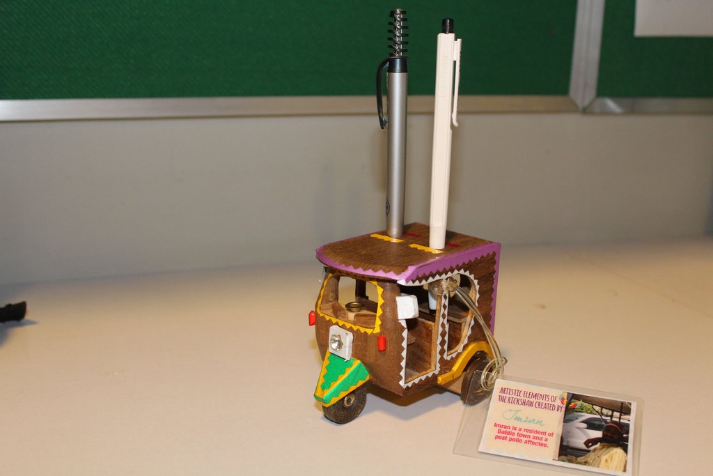 Rickshaw Replica designed by PWDs