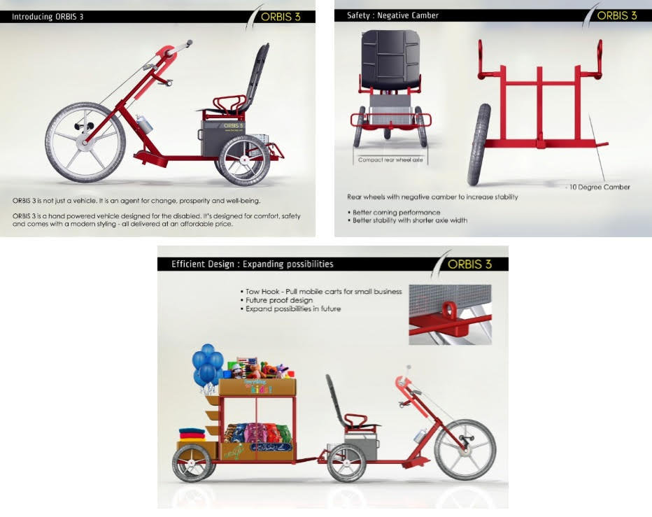 Winning accessible cycle design by Taufeeq