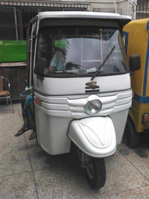 The newest new rickshaw!