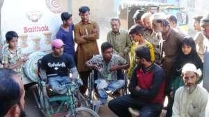 'Baithak' in Baldia Town, Karachi