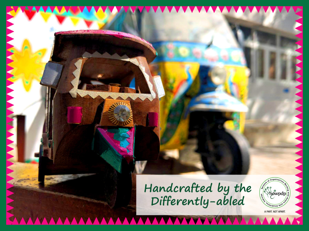 Rickshaw Replicas decorated by our team!