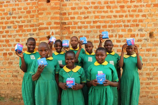 Young girls from Kempega P/S