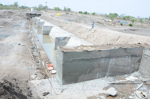 construction of Nala Bandhara : Longterm solution