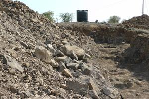 Nala Bandhara Construction is going on