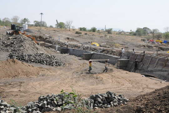 construction of Nala Bandhara : Longterm solution
