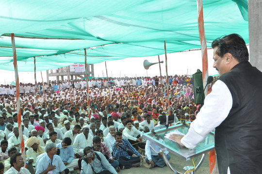 CM's visit to cattle camp