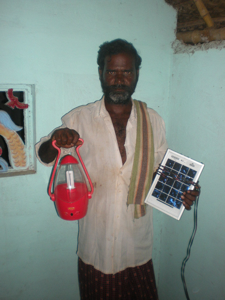 A Beneficiary of solar light