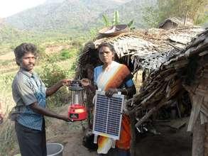 solar lantern provision
