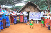 Solar light to tribe living into interior forest