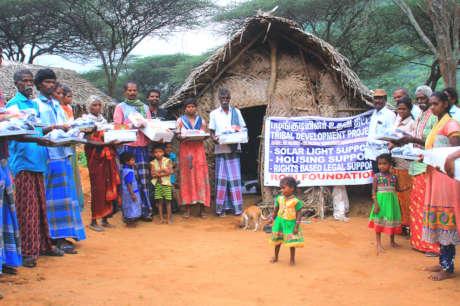 Green Energy -Solar Light for Tribal houses