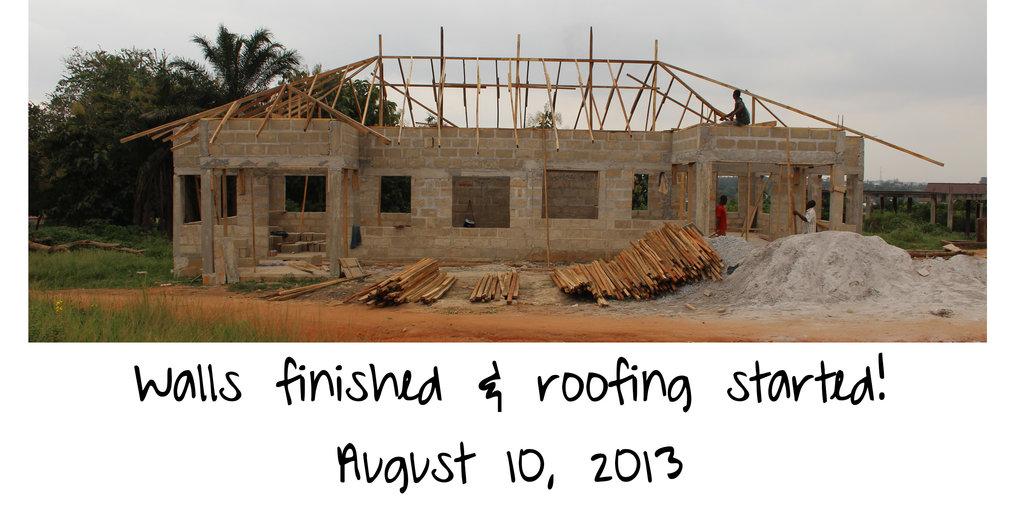 Progress in August 2013