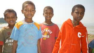 Children on Tulu Gudo