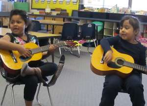Children of Rural Farm Workers Get Musical Access!