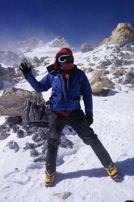 Francesco at the Aconcagua, 2013