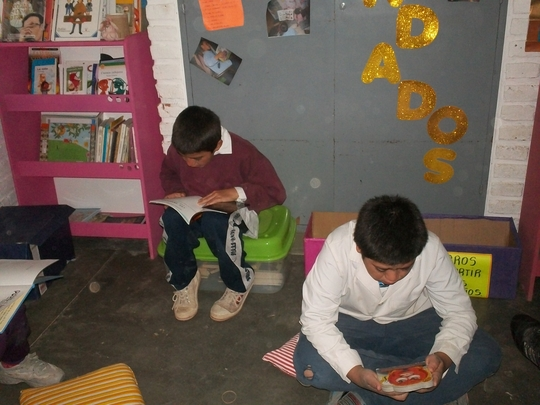 New books and children's library in Chicoana-Salta