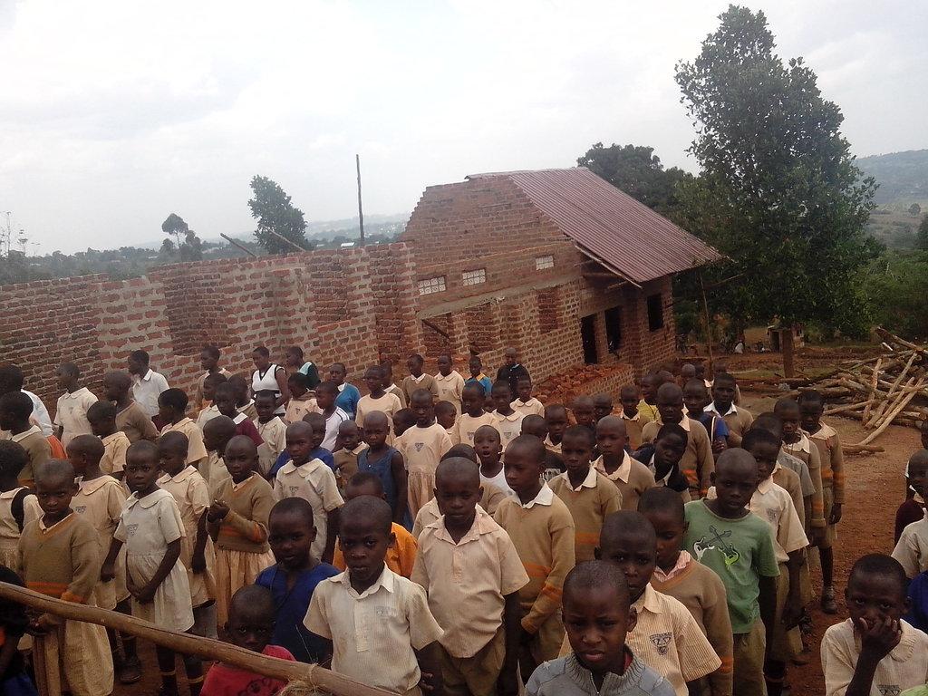 School construction in progress