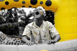 Fun in the Bouncy Castle!