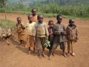 Some children of Bushekeri village