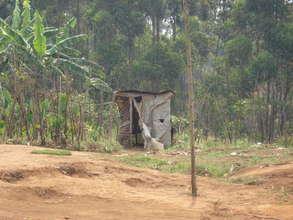 Toilet in Ruharambuga