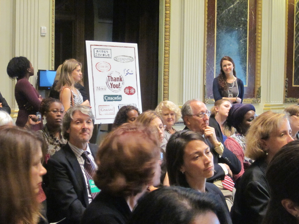White House guests & our Thank You card